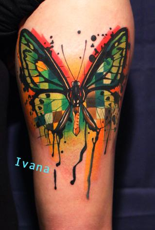 Tattoos - Butterfly - 73889