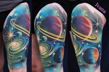 Universe Tattoo Design Thumbnail