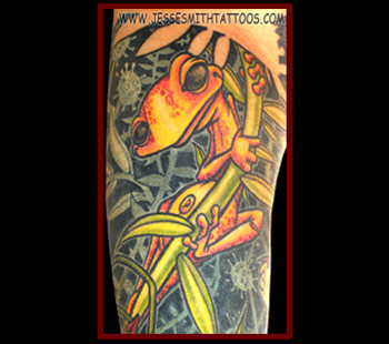 Tattoos - Gecko - 24804
