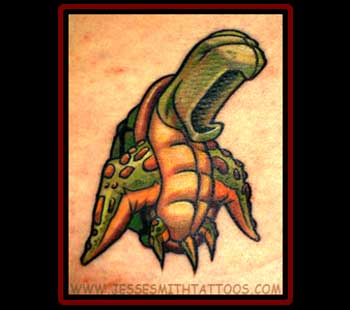 Tattoos - Screaming Turtle - 20088