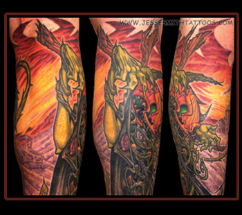 Tattoos - Killcrow (Detail) - 21222