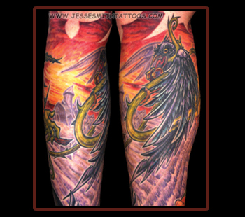 Tattoos - Crow (Detail) - 21221