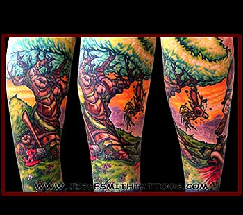 Tattoos - Little Tyler Tree - 24800