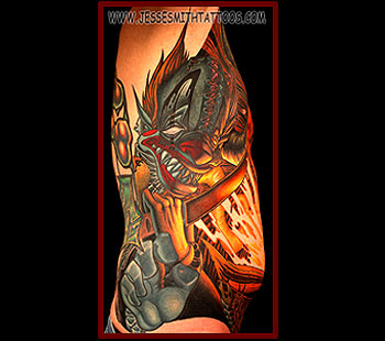 Tattoos - Necronomicon Clown - 24798