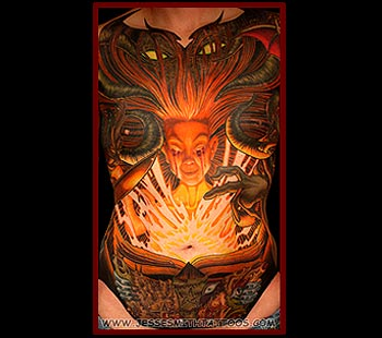 Tattoos - Necronomicon (Front) - 24797