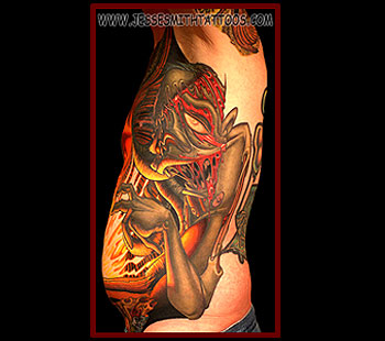 Tattoos - Necronomicon Zombie - 24795
