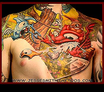 Tattoos - Pinjatta - 31458