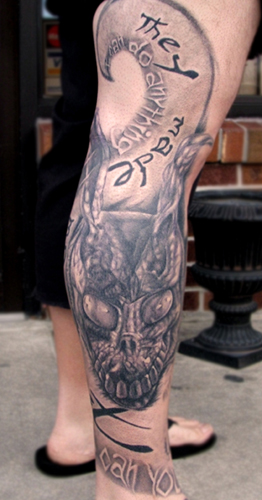 Tattoos - Frank from Donnie Darko - 22694