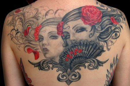 Tattoos - Brian Viveros inspired piece - 56779