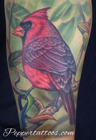 Cardinal Memorial Tattoo Tattoo Design