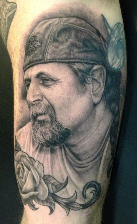 Tattoos - Dad's Portrait - 72738