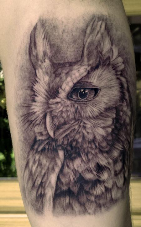 Tattoos - Owl Tattoo - 80639