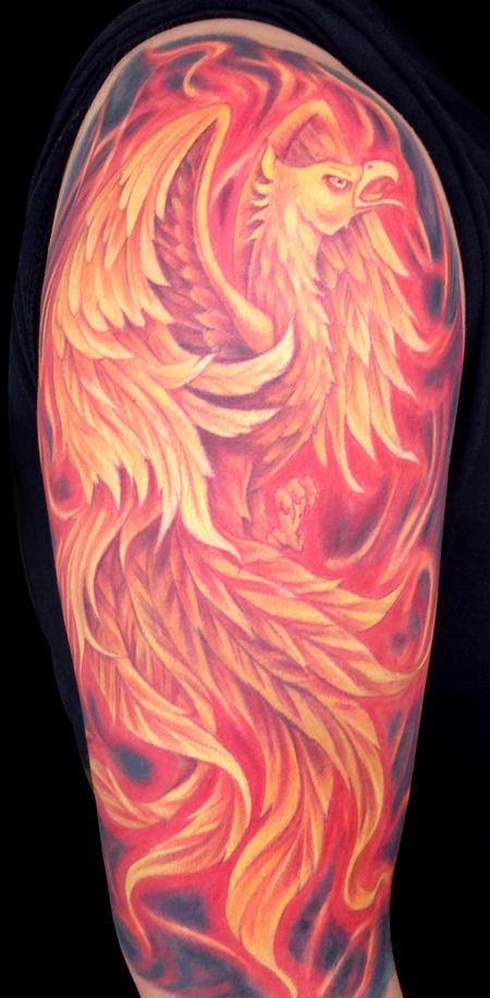 Tattoos - Phoenix Tattoo - 101054