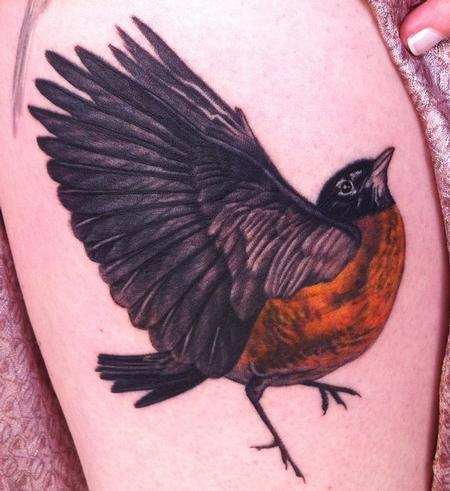 Tattoos - Realistic Robin  - 74828
