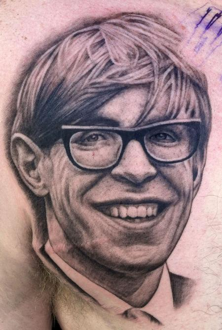 Tattoos - Stephen Hawking - 69513