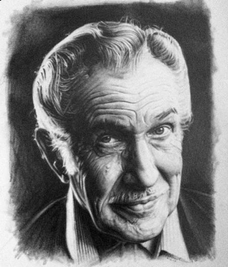 Tattoos - Vincent Price Drawing - 69511