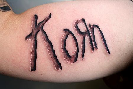 Tattoos - Korn tattoo - 71126