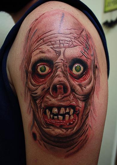 Tattoos - Zombie tattoo - 71135