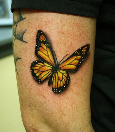 Tattoos - Monarch butterfly tattoo - 84339