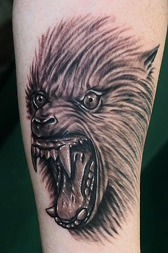 Tattoos - werewolf tattoo - 71133