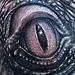 Tattoos - Lizard eye tattoo - 71127