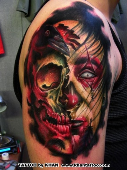 Looking for unique Skull tattoos Tattoos Skull rip face
