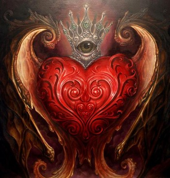 Filigree Heart Art