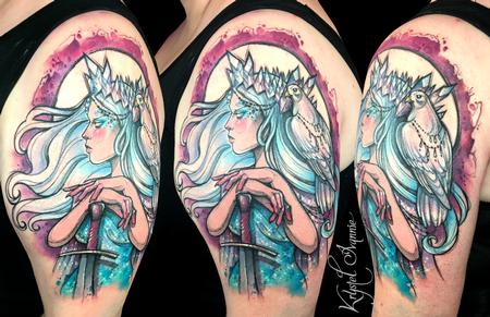 Tattoos - Princess of Swords - 128455