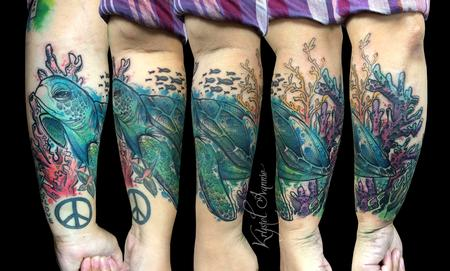 Tattoos - Sea Turtle - 130366