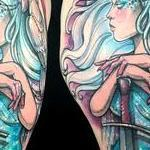 Princess of Swords Tattoo Design Thumbnail
