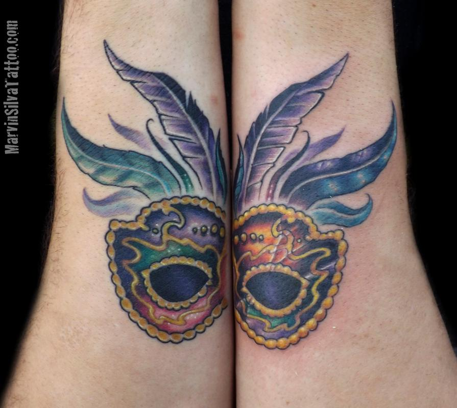 latest tattoo ideas mask tattoo rijeka