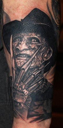 Marvin Silva - Freddy Krueger Tattoo
