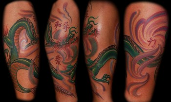 Marvin Silva - Custom Dragon Tattoo