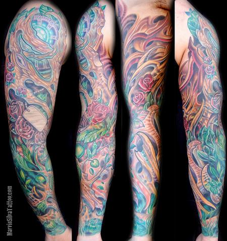 Tattoos - Bio Mac Apple Sleeve - 70697