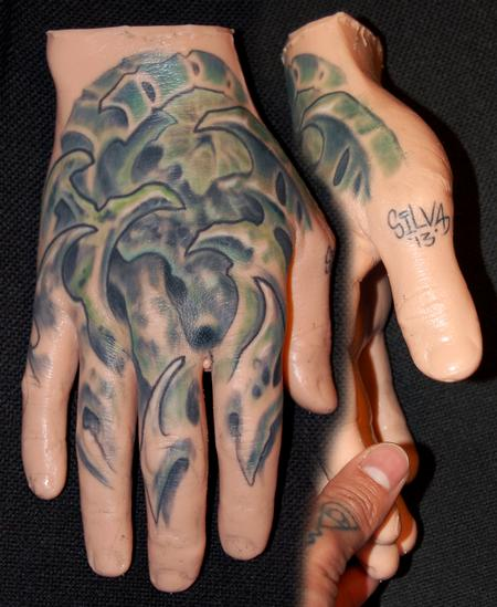 Tattoos - Bio Hand - 75631