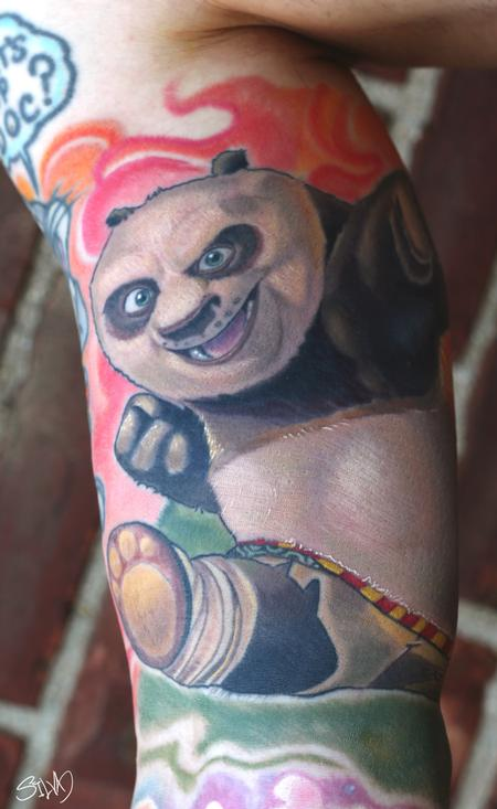 Tattoos - Kung Fu Panda Tattoo - 95308
