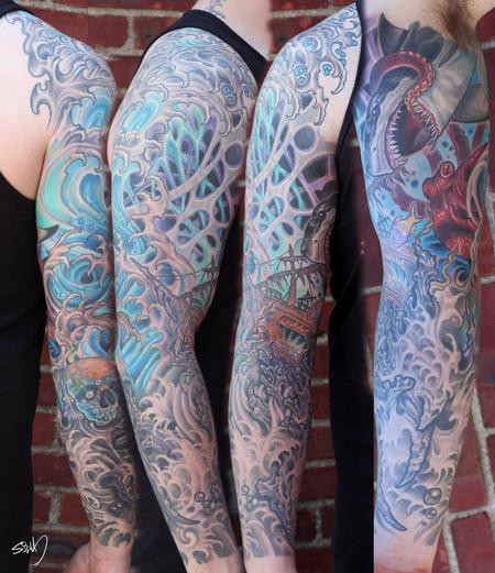 Tattoos - Ian's Sleeve - 95301