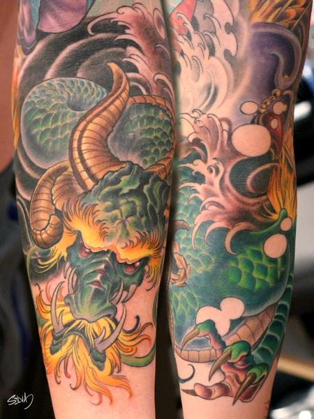 Tattoos - Dragon Tattoo - 95300