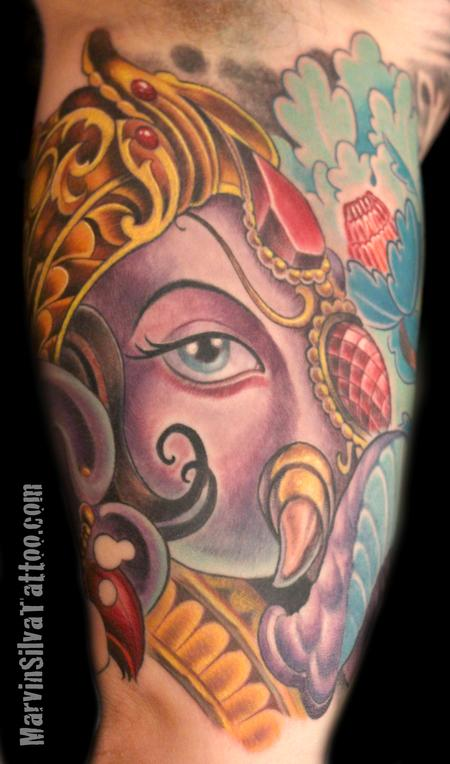 Tattoos - Ganesh Tattoo - 87600