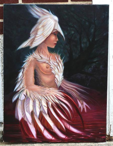 Tattoos - Swan Lady  - 85640