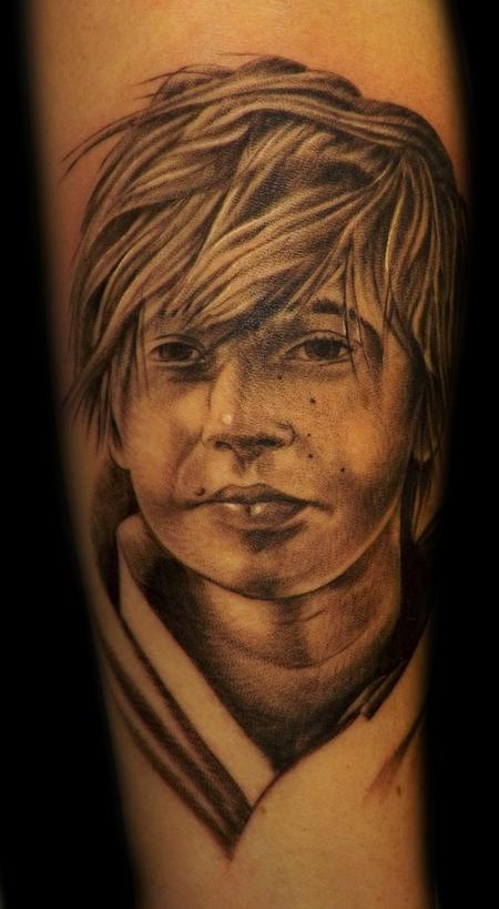 large image keyword galleries black and gray tattoos portrait tattoos
