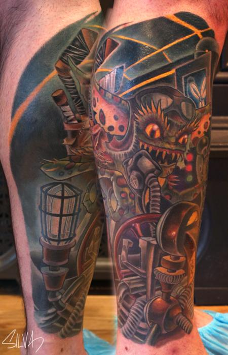 Marvin Silva - Custom Gremlin Tattoo