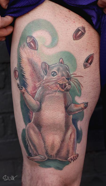 Tattoos - Squirrel Tattoo - 108945