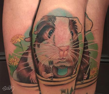Tattoos - Custom Guinea Pig Tattoo - 109002