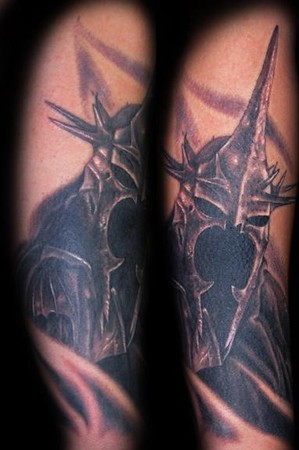Marvin Silva Witch King Tattoo