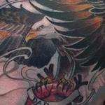 Custom Eagle Heart Tattoo Tattoo Design Thumbnail