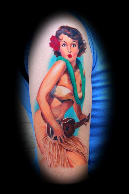 Keith Ciaramello - Color Pinup Tattoo