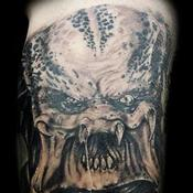 predator Tattoo Design Thumbnail