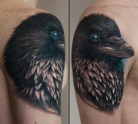 raven Tattoo Design
