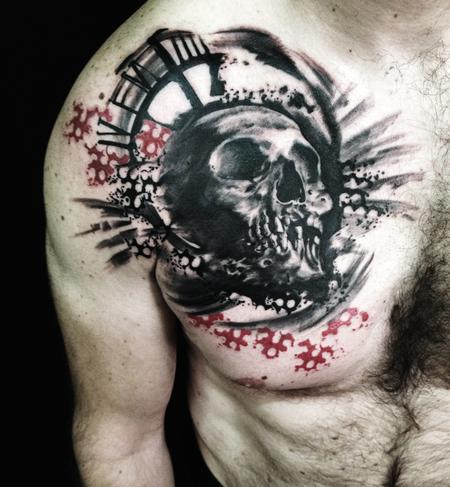 skull Tattoo Design